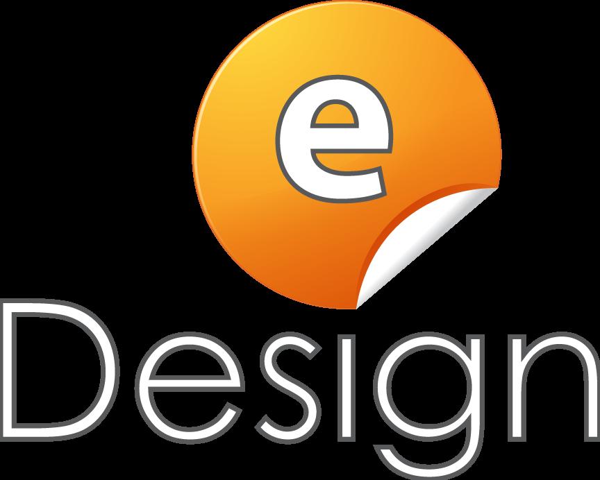 eDesign-Pforzheim-Verstaubte-Webseiten-neu-gestalten-Logo-orange-grau